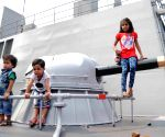 INS Khukri and INS Sumitra docked at Kidderpore Dock
