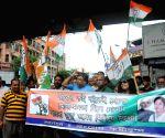 Congress workers' demonstration