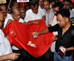 CPI-M leaders collect donation for the Nepal earthquake victims