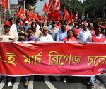 CPI(M) rally against WB Govt.