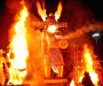 Ravana effigies burnt on Dussehra