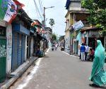 Mamata's house, neighbourhood wear deserted look