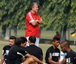 FC Goa coach Jico during practice session