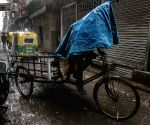 INDIA KOLKATA MONSOON RAIN
