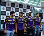 Kolkata Knight Riders during a promotional programme