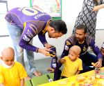 KKR players visit St. Jude India Child Care Centres