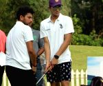 Kolkata Knight Riders' at charity golf event