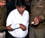 Naresh Bhalotia comes out of CBI office
