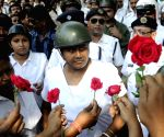 Event : (030415) Kolkata: Leftist students' demonstration