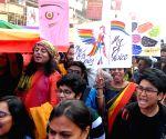 Hundreds participate in Rainbow pride walk against NRC, CAA