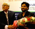 Babul Supriyo addresses at an interactive session