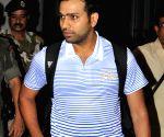 Kolkata: Mumbai Indians arrive at Kolkata Airport