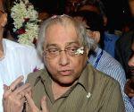 : Kolkata: BCCI president Jagmohan Dalmiya arriving at NSC Bose airport