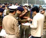 Kolkata Police Commissioner inspects the Red Road parade ground