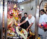 Modi during his visit to the Dakshineswar Temple