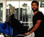 RCB players at Kolkata Airport