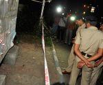 Minor blast in front of CRPF camp