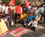 AIYL protest against WB Government