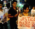 Anti-ragging demonstration in Kolkata