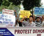 DRSO demonstration against WB Govt.