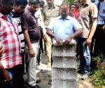 Forest officials recover 5-feet-long Python skin