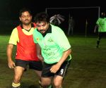 Babul Supriyo participate at a promotional football match