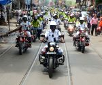Kolkata Traffic Police organises awareness rally