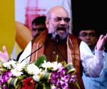 Shah flays TMC, seeks support for 'Sonar Bangla'