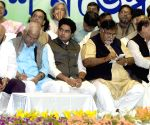 Mamata Banerjee addresses during a workers meeting
