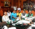 All party meeting by West Bengal Legislative Assembly Speaker
