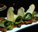Bosco Di Mottobella, Zucchini Wrapper Artichoke at Kolkata Restaurant