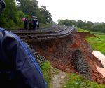 Amravati (Maharashtra): Konkan Railway services disrupted after landslide near Karwar