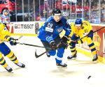 SLOVAKIA KOSICE ICE HOCKEY IIHF WORLD CHAMPIONSHIP QUARTERFINAL FIN VS SWE