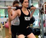 Free Photo:Kriti Sanon reveals a gym secret: ' Instagram v/s Reality