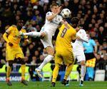 SPAIN-MADRID-SOCCER-UEFA CHAMPIONS LEAGUE- REAL MADRID VS JUVENTUS