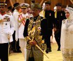 MALAYSIA KUALA LAMPUR KING CORONATION