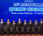 MALAYSIA-KUALA LUMPUR-ASEAN SUMMIT-OPENING CEREMONY