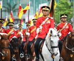 Kuala Lumpur: Rehearsal of the 57th Malaysian National Day