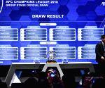 MALAYSIA-KUALA LUMPUR-SOCCER-AFC CHAMPIONS LEAGUE 2018-DRAW