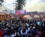'Gods', 'goddesses' arrive at Kullu Dussehra