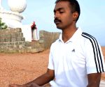 Andhra police officer's bit to promote yoga (With Image)