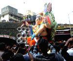 "Kurla Cha Raja"" Ganesha idol"