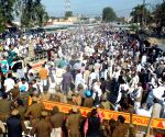 Farmers block Haryana highway over demands