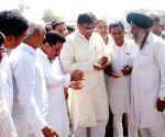 OP Dhankar inspects at Pipli Anaj Mandi
