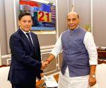 Kyrgyz envoy meets Rajnath Singh