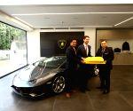 Opening of Lamborghini India's new showroom