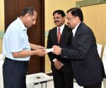 L&T officials meet Telangana Governor