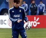 La Serena: Argentina national soccer team training session