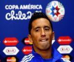 La Serena: Lucas Barrios - press conference