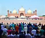 PAKISTAN LAHORE EID AL FITR CELEBRATION